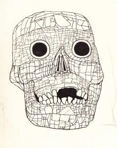 Mexican skull crop