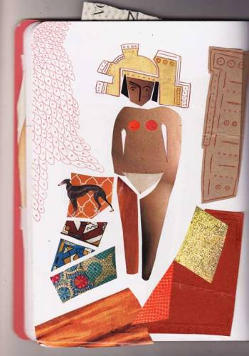 mayan-lady-three-collage