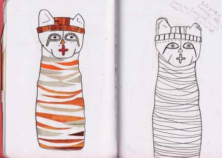 mummified-cats-sketchbook